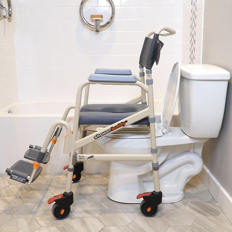 SB7e shown over toilet