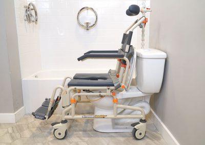 Roll-InBuddy Tilt SB3T over toilet