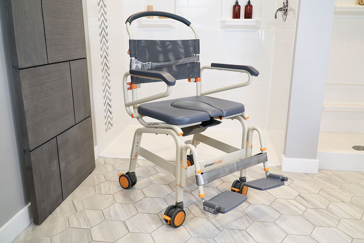 Roll-InBuddy XL SB6c-22 mobility product suitable for roll-in showers