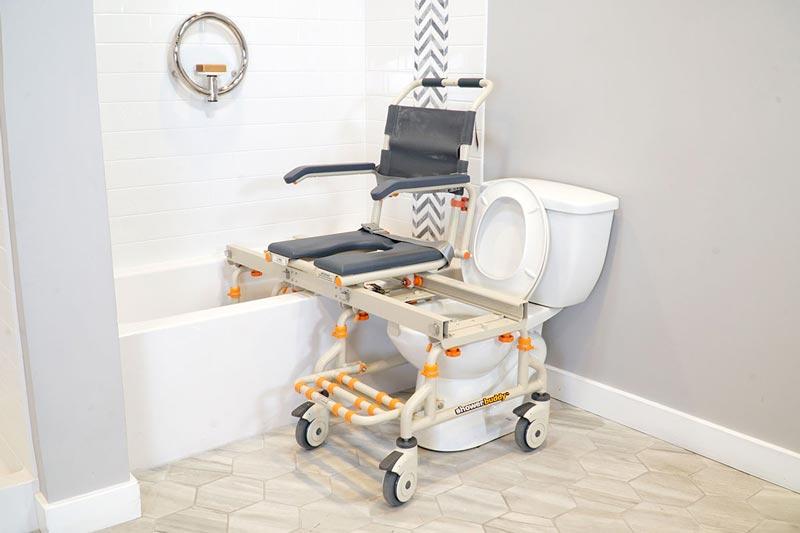 Showerbuddy - TubBuddy SB2 product shown in bathtub